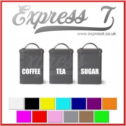 Coffee Tea Sugar Stickers