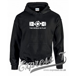 The World Is Flat Hoodie