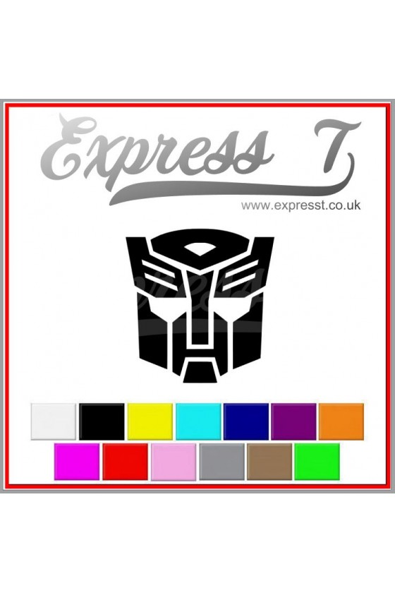 Transformer Autobot Sticker