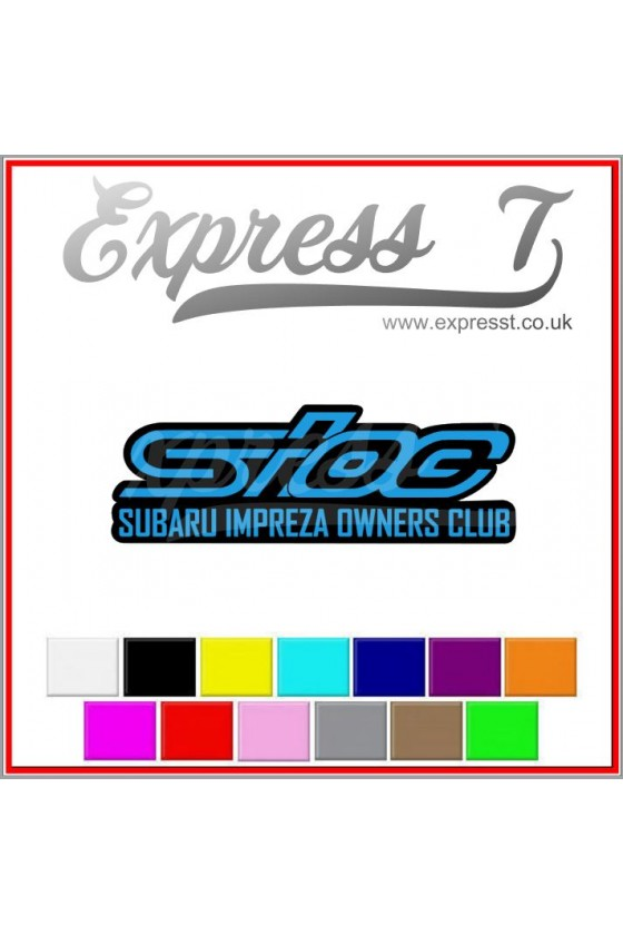 SIOC Sticker two colour...